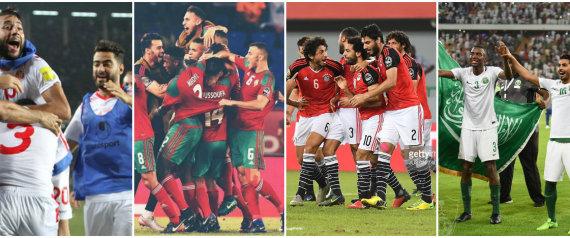 كأس العالم بنكهة عربية.. لأول مرة في التاريخ 4 دول تذهب مرة واحدة لنهائيات كأس العالم