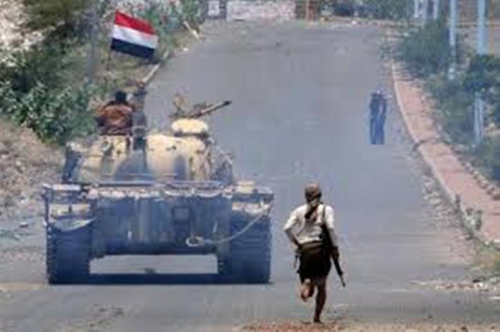 قوات الجيش الوطني تسيطر على مواقع جديدة في تعز وطيران التحالف يشن12 غارة تستهدف مليشيا الحوثي