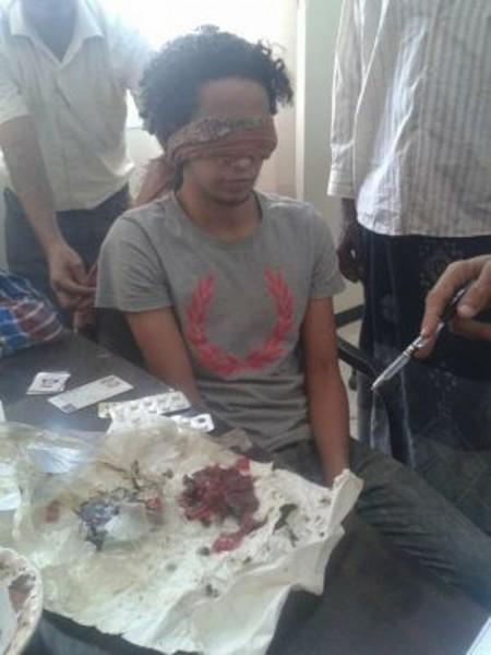 قوات الأمن في عدن تلقي القبض على تاجر حشيش في التواهي