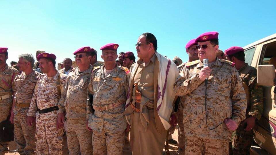 الفريق المقدشي يزور كتائب القوات الخاصة بمأرب