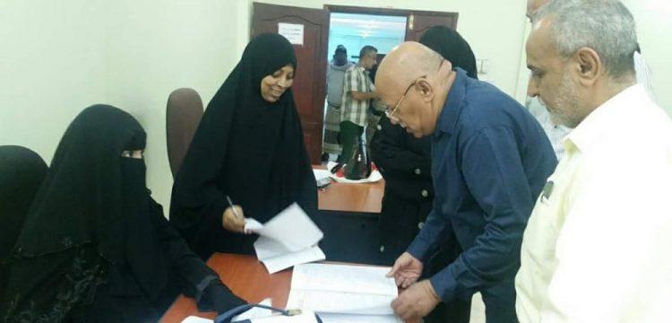 وزير العدل يقوم بزيارة تفقدية للمجمع القضائي في عدن
