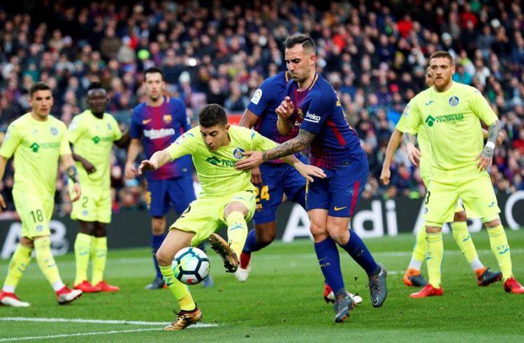 برشلونة يواصل هدر النقاط ويتعادل مع خيتافي