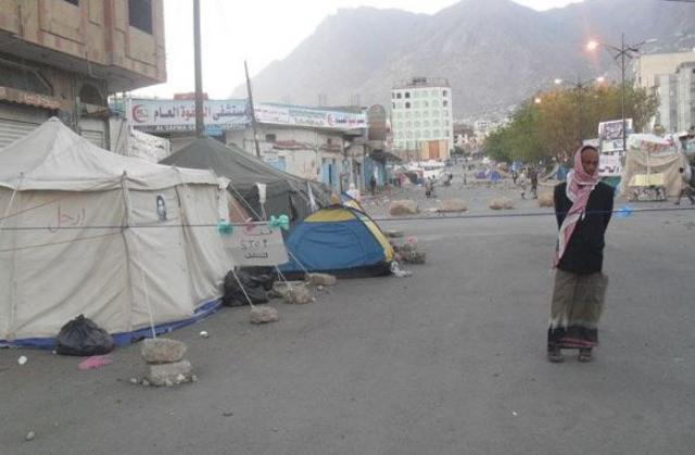 ساحة الحرية في تعز… عنوان صمود الثورة
