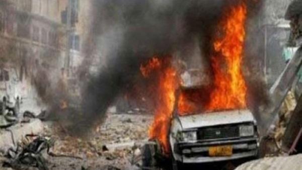 لحج.. انفجار سيارة محملة بالالعاب النارية