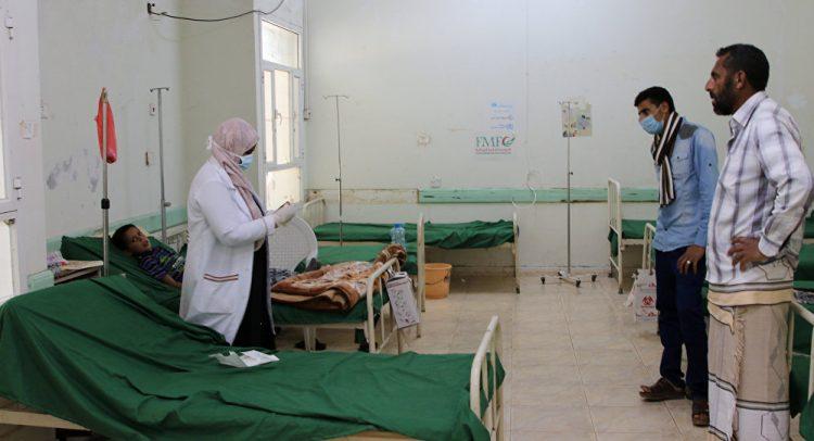 مرض الدفتيريا يصيب أكثر من 900 حالة في اليمن منذ 6 أشهر