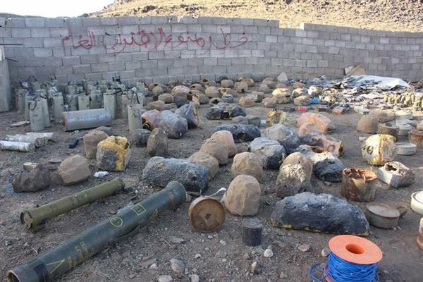 قوات الجيش الوطني تتلف ما يقارب 1000 لغم وعبوة ناسفة في عسيلان