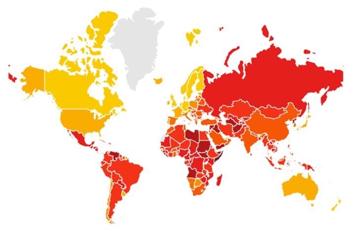 """تعرف على مرتبة اليمن في الدول العربية الأكثر والأقل فسادا… تقرير """"الشفافية الدولية"""""""