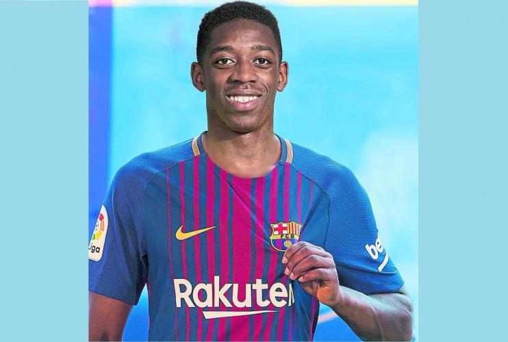 حقيقة رحيل عثمان ديمبلي عن برشلونة