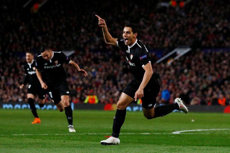 أشبيلية يفاجئ مانشستر يونايتد ويتأهل إلى ربع نهائي دوري ابطال اوروبا