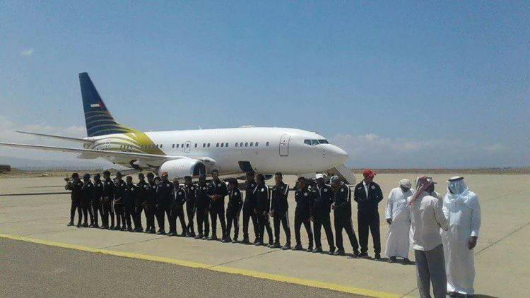 الإمارات تخطف منتخب سقطرى إلى أراضيها بدون علم وزارة الشباب والرياضة