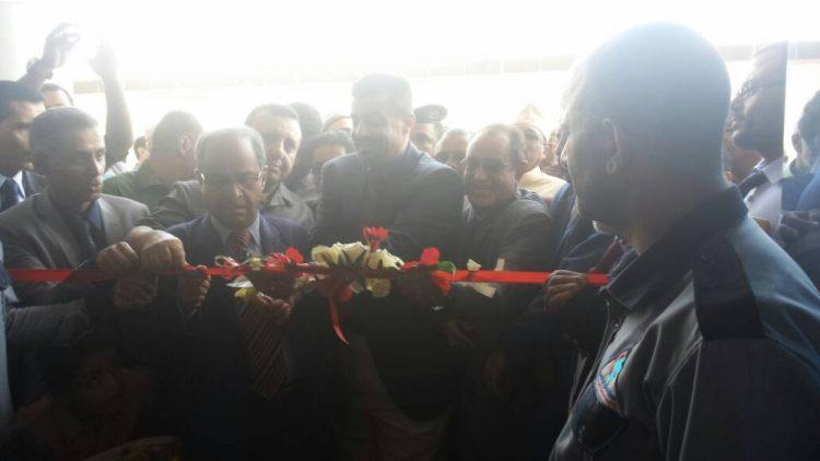 افتتاح مستشفى نموذجي بالعاصمة المؤقتة عدن
