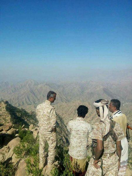 قوات الجيش الوطني تنفذ عملية عسكرية لاستكمال تحرير مديرية القبيطة من المليشيات في لحج