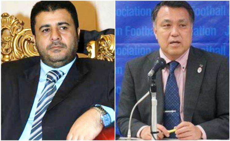 رئيس الاتحاد الياباني يهنئ الشيخ احمد العيسي بإنجاز المنتخب اليمني، ويتطلع لتعاون كبير بين اليمن واليابان