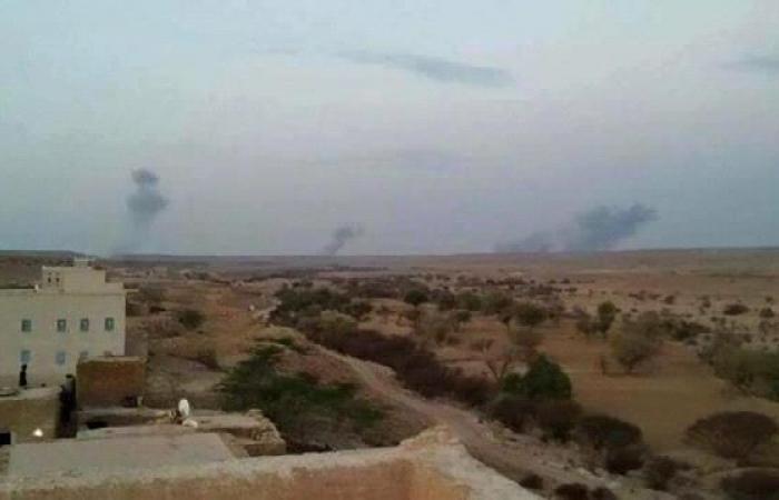 طائرات حربية تشن غارات على مواقع لتنظيم القاعدة في وادي حضرموت