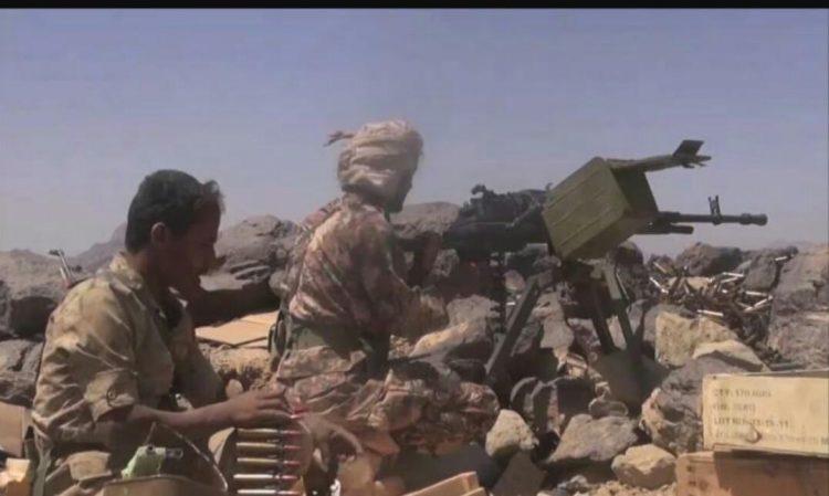 قوات الجيش الوطني تصد هجوما لمليشيا الحوثي في جبهة قانية بالبيضاء