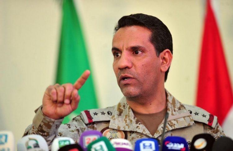 ناطق التحالف يكشف عن اعتراض الدفاع الجوي السعودي لصاروخ باليستي اطلقه الحوثيين باتجاه نجران