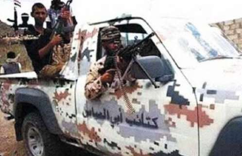 """عناصر تابعة لـ """"أبو العباس"""" المدعوم إماراتيا تسلم نفسها للجنة الأمنية في تعز"""