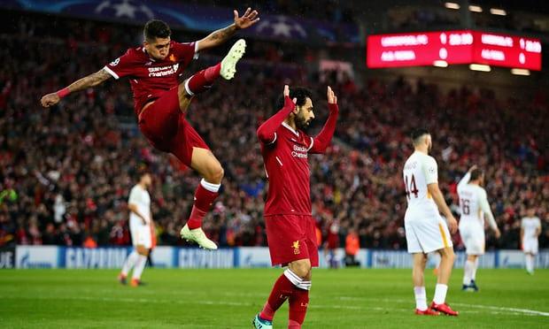 بقيادة محمد صلاح .. ليفربول يقسو على روما بخماسية مقابل هدفين
