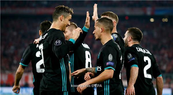 ريال مدريد يقلب الطاولة على بايرن ميونخ