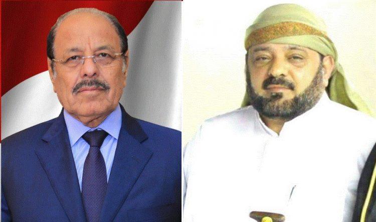 نائب رئيس الجمهورية يعزي في وفاة الشيخ قاسم الدعبوش