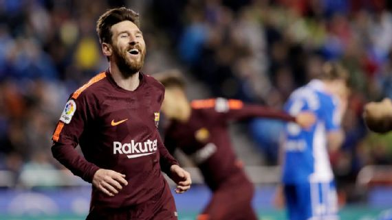 رسميا.. برشلونة بطل الدوري الاسباني للموسم 2017/2018