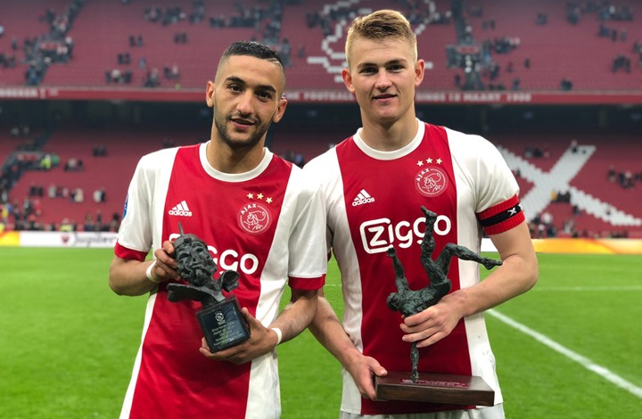 المغربي زياش يتوج بجائزة أفضل لاعب في أياكس الهولندي