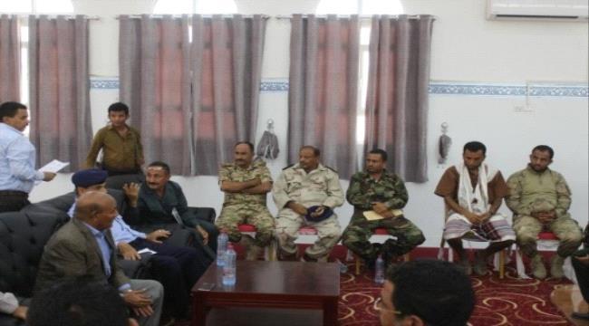 عدن.. اجتماع يناقش آلية صرف مرتبات شهر أبريل لمنتسبي وزارة الداخلية