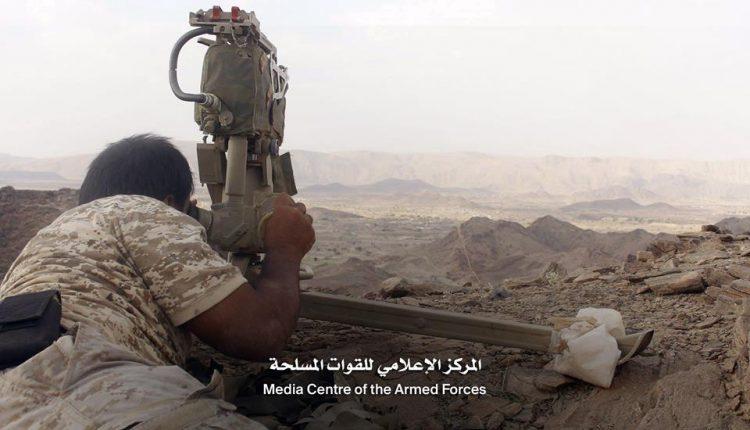 قوات الجيش تحكم سيطرتها على المواقع والطرق المؤدية الى مركز مديرية كتاف بعد تمكنها من اقتحامه