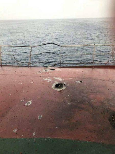 متحدث التحالف العربي يعلق على اضرار لحقت بسفينة تركية كانت راسية قبالة ميناء الصليف