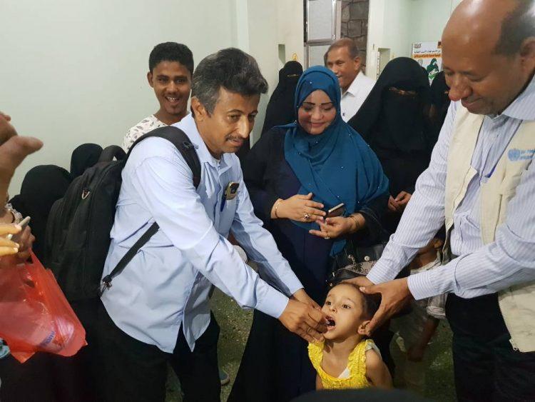 تدشين حملة التحصين الصحي الفموي ضد مرض الكوليرا في عدن