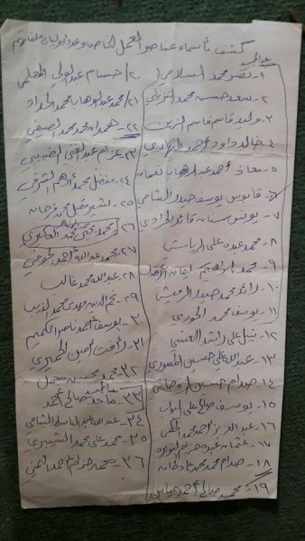 36 معتقلا يواجهون احكاما قاسية في ظل قضاء غير نزيه