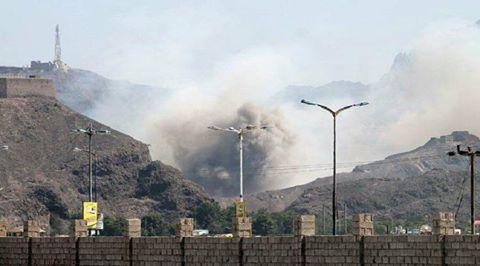 مصدر أمني يكشف أسباب انفجارات معسكر جبل حديد بخور مكسر