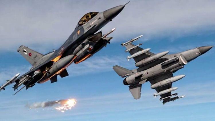 الجيش التركي يوجه ضربات جوية لأهداف عسكرية كردية شمال العراق وسوريا