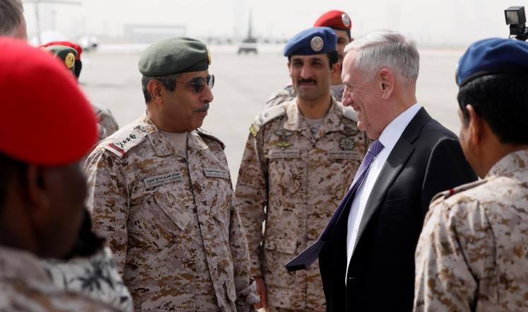 وزير الدفاع الامريكي يصل إلى السعودية لبحث نفوذ ايران في المنطقة