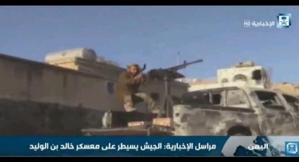 الجيش الوطني يحكم سيطرته على محيط معسكر خالد بن الوليد
