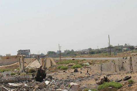 ميدي: الجيش الوطني يقصف مواقع المليشيا والطيران يدمر تعزيزاتهم