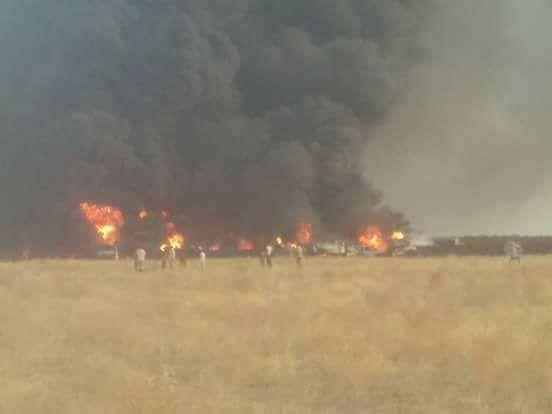 ارتفاع ضحايا انبوب النفط بالحديدة الى 13 قتيل وعشرات المصابين