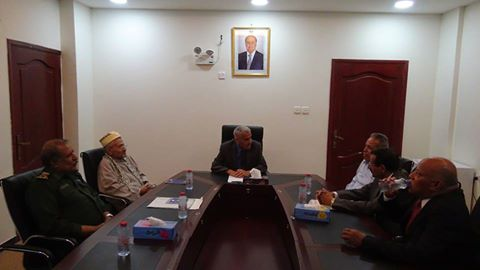 """لقاء يناقش اعادة فتح المحاكم في العاصمة المؤقتة """"عدن"""""""