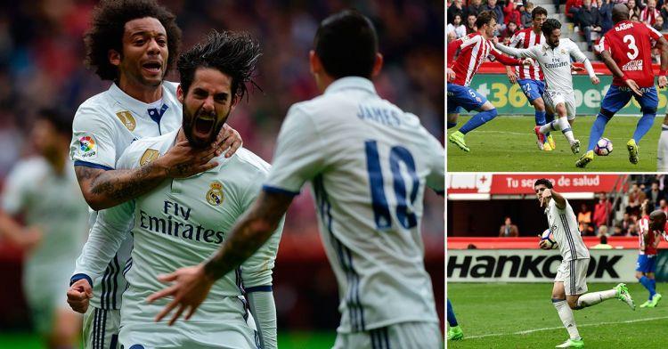 برشلونة يواصل مطاردة الريال، وريال مدريد يحافظ على الصدارة