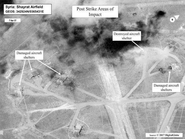 امريكا تعلن استعدادها لشن ضربات جديد ضد النظام السوري