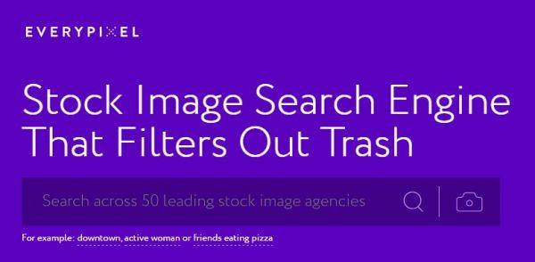 إيفري بيكسل محرك بحث خاص بالصور العالية الجودة
