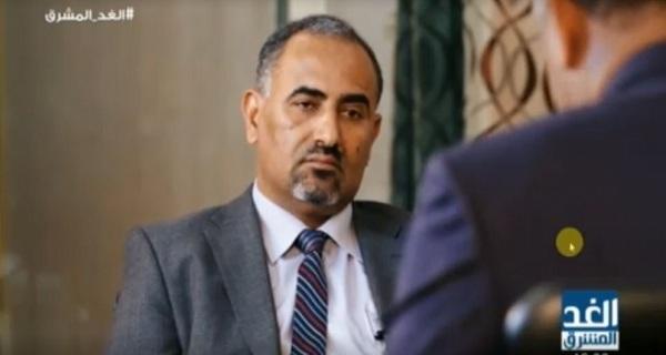 قناة الحرة تفاجئ أنصار المتمرد عيدروس الزبيدي وتلغي بث مقابلة معه