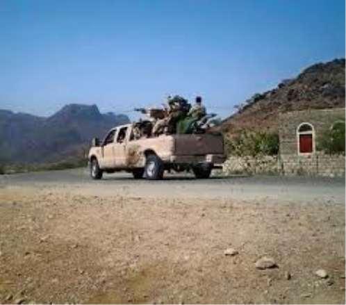 مقتل 7 من مليشيا الحوثي بينهم قيادي باشتباكات مع أهالي من محافظة الضالع