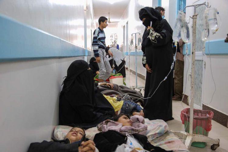 ذمار: ارتفاع وباء الكوليرا يرفع عدد الوفيات إلى 83 حالة