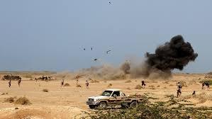 تواصل المعارك العنيفة بين قوات الجيش الوطني والانقلابيين شرق وشمالي المخا