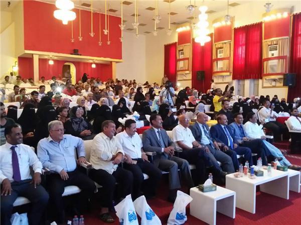 """عدن: الهيئة العامة لتنظيم شئون النقل البري تكرم """"39"""" من مظفيها بمناسبة يوم العمال"""