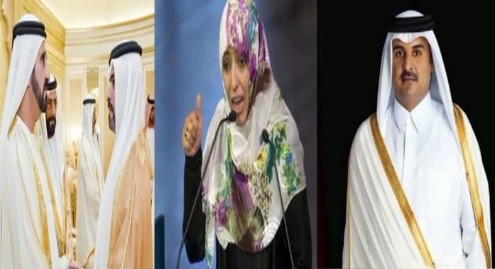 الناشطة توكل كرمان تدعو قطر الى لعب دور ايجابي في اليمن