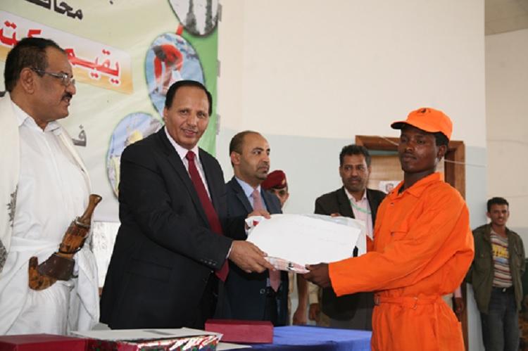 وزير الخدمة المدنية يكرم العاملين في يوم عيدهم العالمي