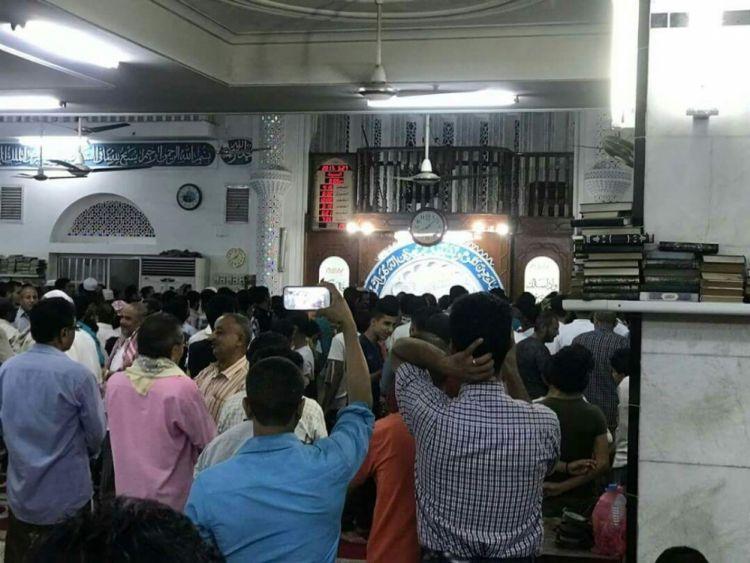 عدن: اجهزة الامن تفرج عن إمام مسجد أبان بعد احتجازه امس