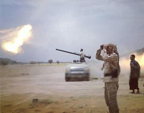 الجيش الوطني يتقدم في نهم بإشراف من هادي والمقدشي